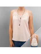 Vero Moda Hihattomat paidat vmMoon Strap roosa