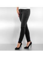 Vero Moda vmSeven Slim Patch Ankle Jeans Black