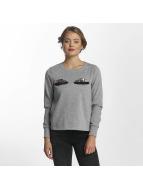 Vero Moda vmEye Sweatshirt Light Grey Melange
