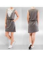 Vero Moda jurk vmMatea Crochet Short grijs