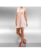Vero Moda Kleid vmLingerie Lace Strap Mini rosa
