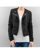Vero Moda Leather Jacket vmAria Donna black