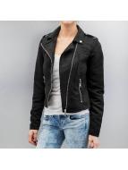 Vero Moda Leather Jacket vmMadden Diva black