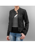 Vero Moda Leather Jacket vmMiley black