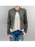 Vero Moda Leather Jacket vmHouston Fake Suede green