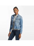 Vero Moda Lightweight Jacket vmMerny Ruffle Denm blue
