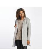 Vero Moda vmMelena Rich 3/4 Wool Jacket Light Grey Melange