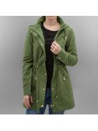 Vero Moda Płaszcze VMPernille zielony