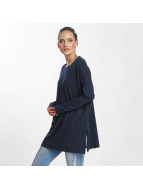 Vero Moda vmBrilliant Knit Long Blouse Navy Blazer