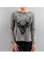 Vero Moda Pullover VMEkinda Deer noir