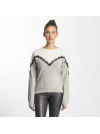 Vero Moda vmSmilla Blouse Light Grey Melange