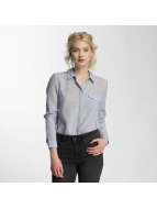 Vero Moda Shirt vmBasa Midi Woven blue