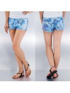 Vero Moda Shorts Pretty Flower blau