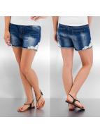 Vero Moda shorts Paula Lace blauw