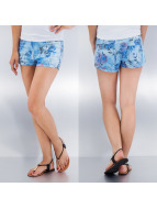 Vero Moda shorts Pretty Flower blauw