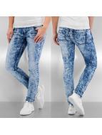 Vero Moda Skinny Jeans vmFive Slim Azur blau
