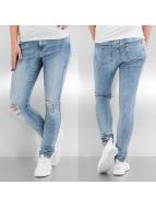 Vero Moda Skinny Jeans vmSeven Super Slim Kneecut blau