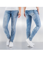 Vero Moda Skinny jeans vmFive Slim Paint blauw