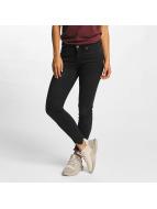 Vero Moda Skinny Jeans vmSeven Hem czarny