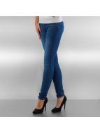 Vero Moda Skinny Jeans vmFive Slim Pushup niebieski