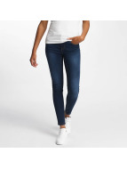 Vero Moda Skinny Jeans vmSeven Shape Up niebieski