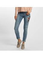 Vero Moda Skinny Jeans vmAdele Cigarette niebieski