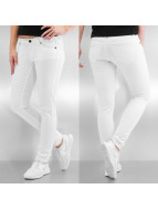 Vero Moda Skinny Jeans vmFive Low Super Slim weiß