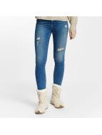 Vero Moda Slim Fit Jeans vmSeven blauw