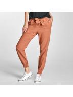 Vero Moda Spodnie wizytowe VMMilo-Citrus brazowy
