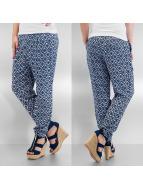 Vero Moda Spodnie wizytowe vmSuper Easy Loose niebieski