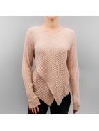 Vero Moda Swetry vmAnny brazowy