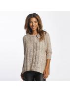Vero Moda Swetry vmAmanda rózowy
