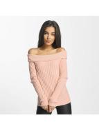 Vero Moda Swetry vmAva rózowy