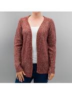 Vero Moda Swetry rozpinane vmCamille czerwony
