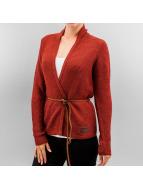 Vero Moda Swetry rozpinane vmJoya czerwony
