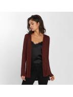 Vero Moda Swetry rozpinane vmNille czerwony