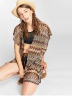 Vero Moda Swetry rozpinane vmCita Wide Poncho kolorowy