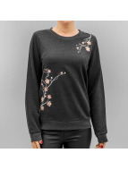 Vero Moda Swetry Vmflower Embroidery szary