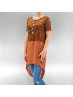 Vero Moda T-paidat vmJuca ruskea