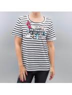 Vero Moda T-Shirt vmWilly Patch blanc
