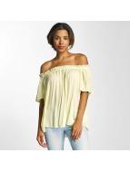 Vero Moda t-shirt vmPatricia geel