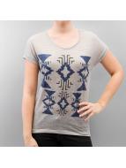 Vero Moda T-Shirt vmCalina Wide grau