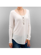 Vero Moda T-Shirt manches longues vmLua blanc