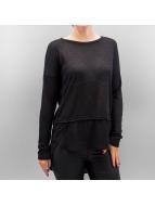 Vero Moda T-Shirt manches longues VMJulia noir