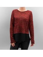 Vero Moda T-Shirt manches longues VMJulia rouge