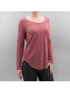 Vero Moda T-Shirt manches longues vmLua rouge