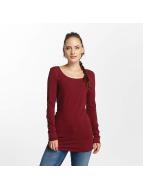 Vero Moda T-Shirt manches longues vmMaxi rouge