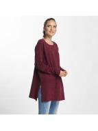 Vero Moda T-Shirt manches longues vmBrilliant rouge