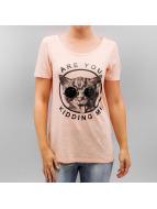 Vero Moda T-Shirt vmCharlotte Vegas orange