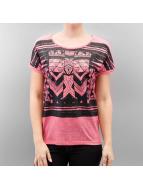 Vero Moda T-Shirt vmCalina Wide rosa